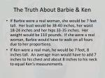 the truth about barbie ken