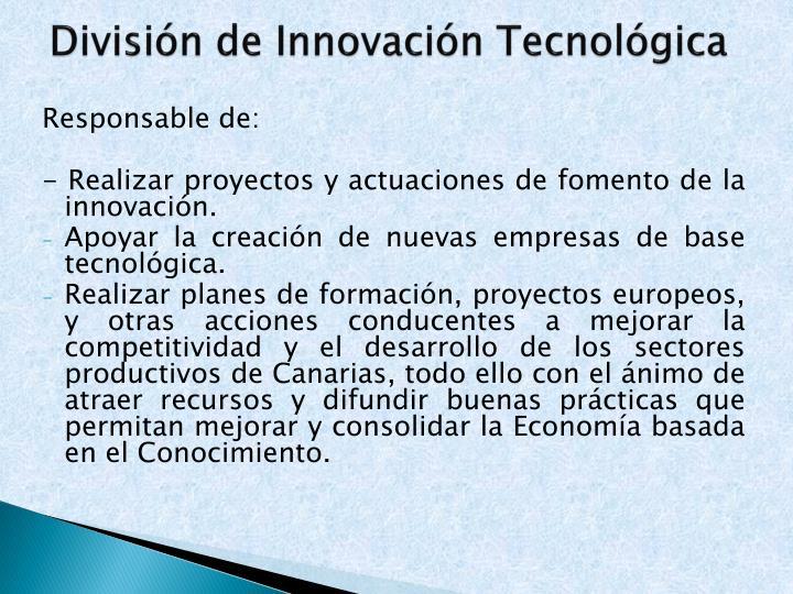 División de Innovación Tecnológica