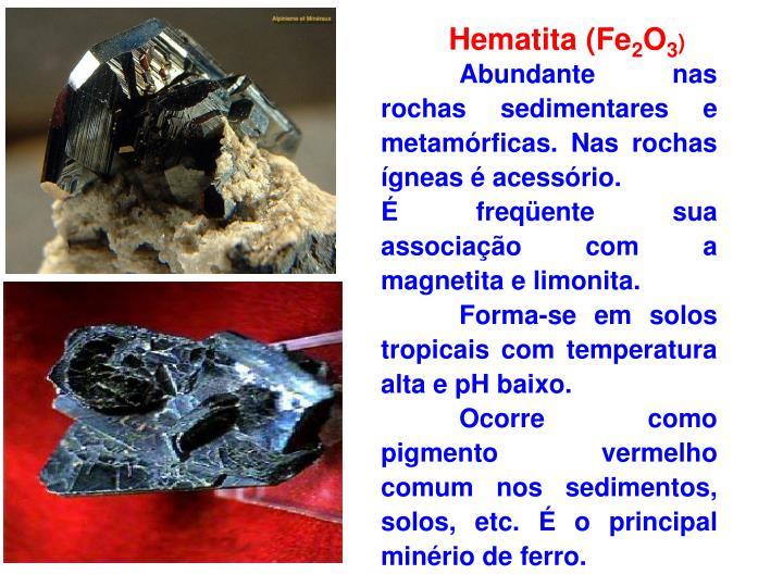 Hematita (Fe