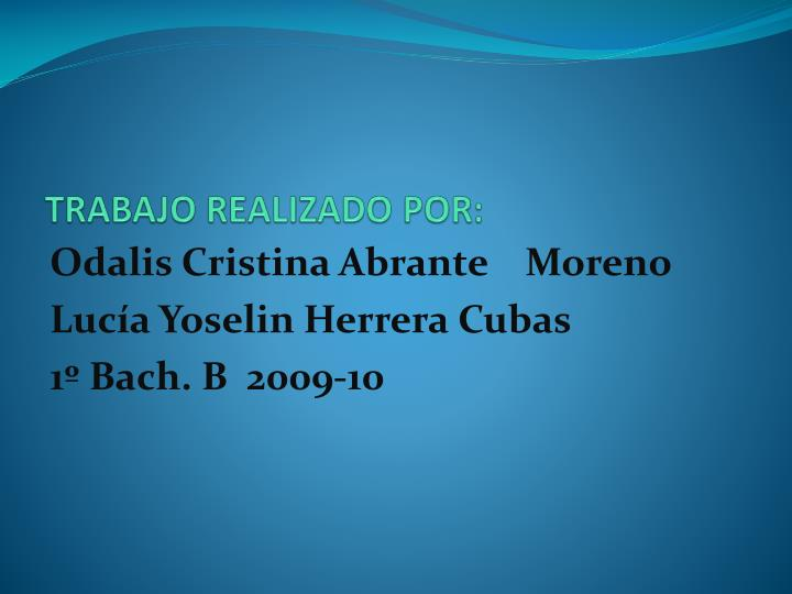 Odalis Cristina Abrante Moreno