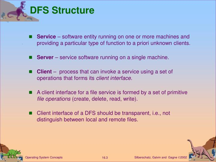 Dfs structure