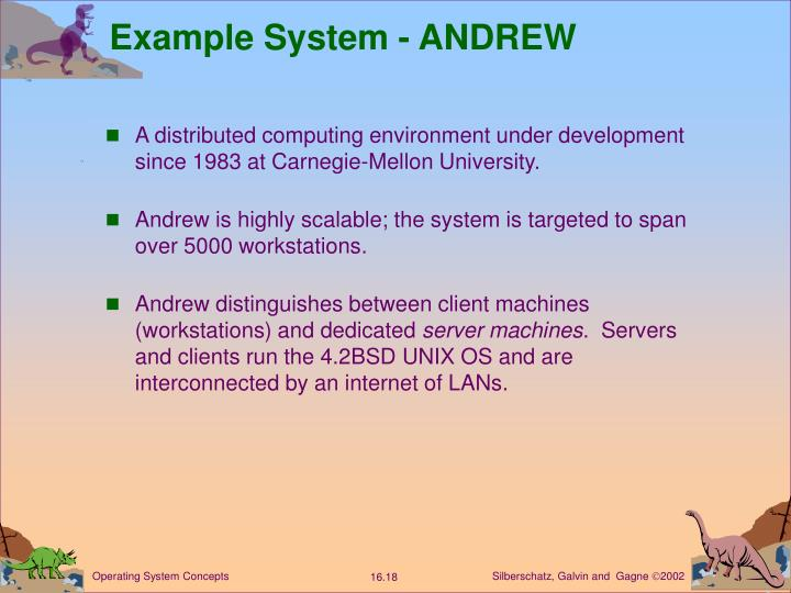 Example System - ANDREW