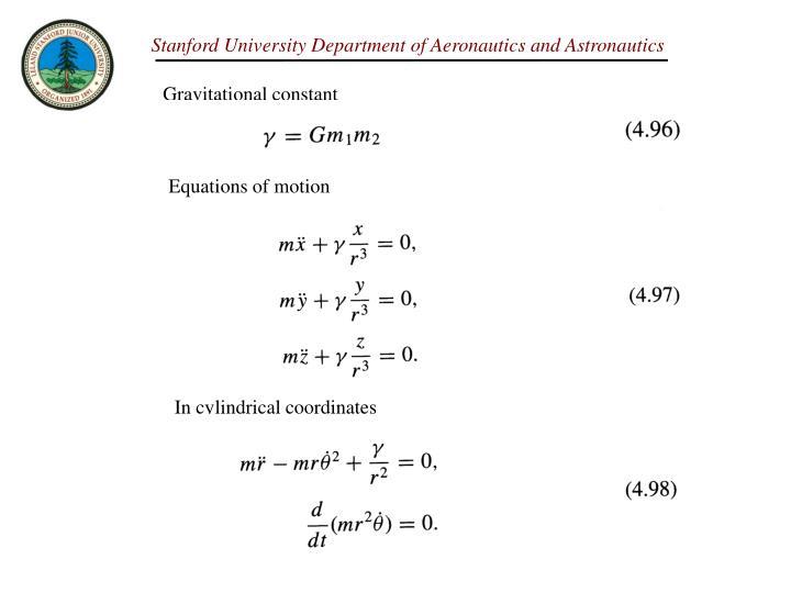 Gravitational constant