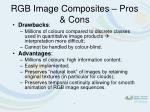 rgb image composites pros cons
