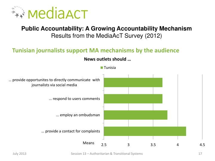 Public Accountability: A