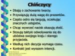 chi czycy
