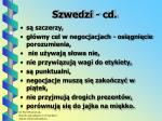 szwedzi cd