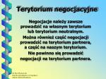 terytorium negocjacyjne