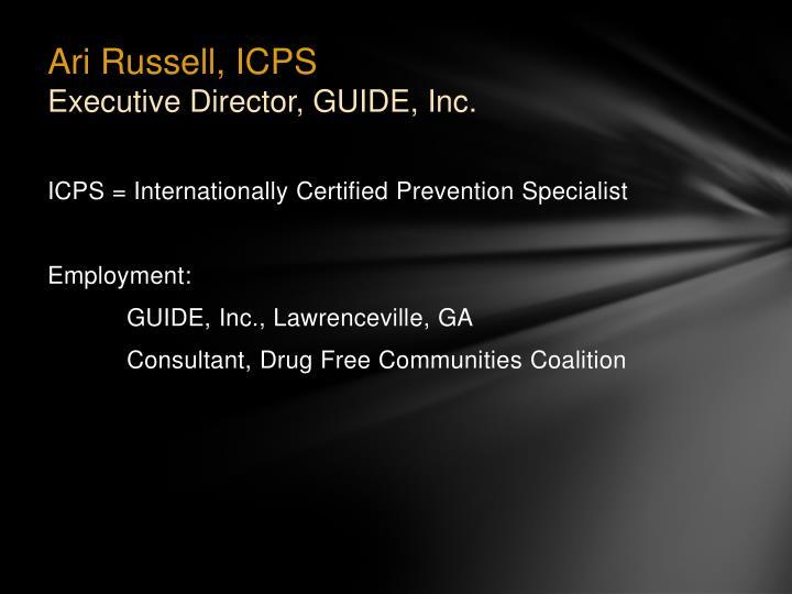 Ari Russell, ICPS