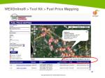 wexonline tool kit fuel price mapping