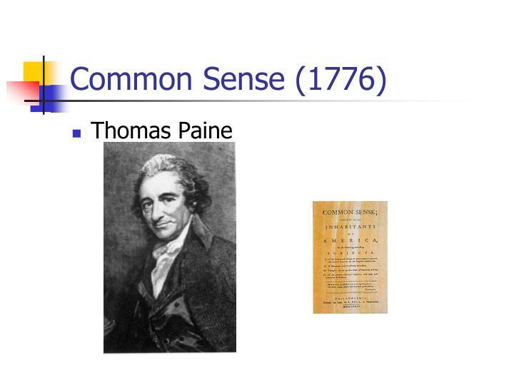 Common Sense (1776)