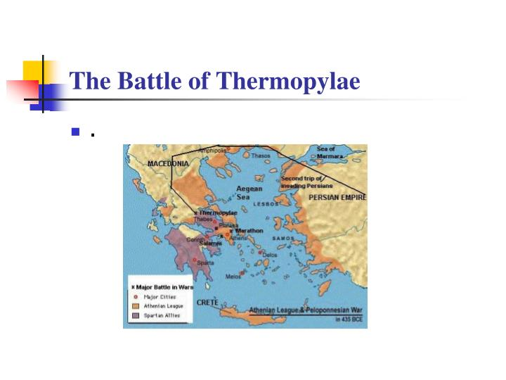 The Battle of Thermopylae