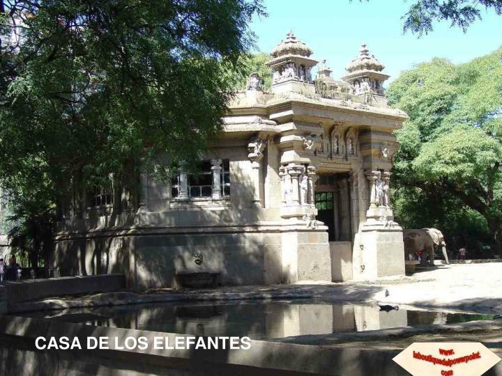 CASA DE LOS ELEFANTES