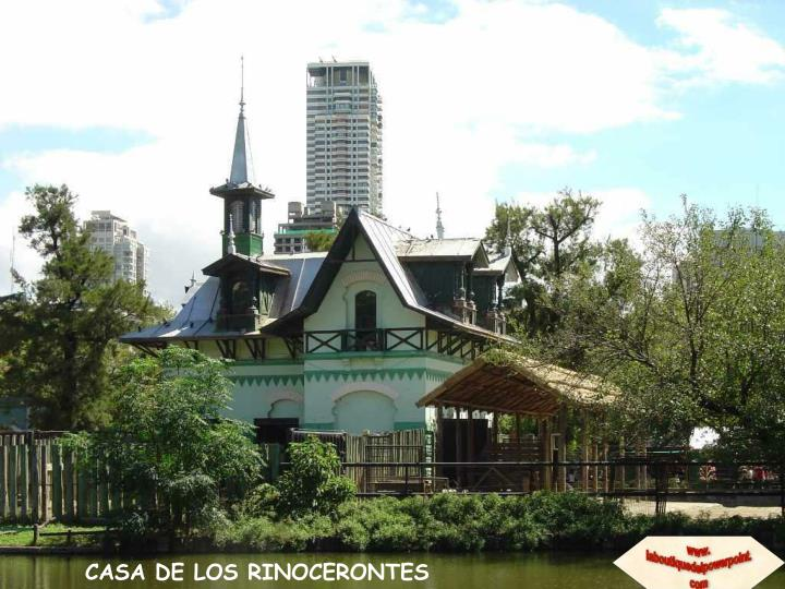 CASA DE LOS RINOCERONTES