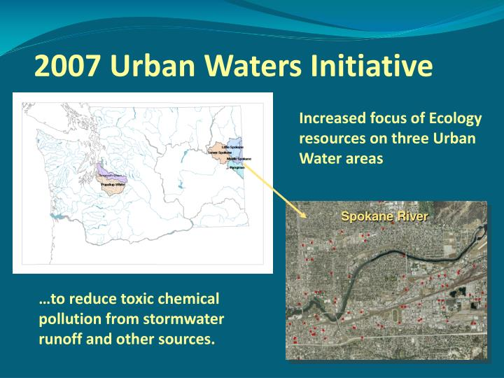 2007 urban waters initiative