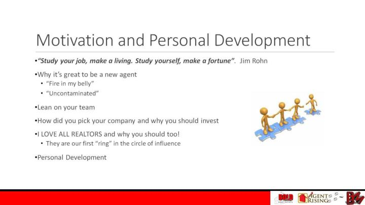 Motivation and Personal Development