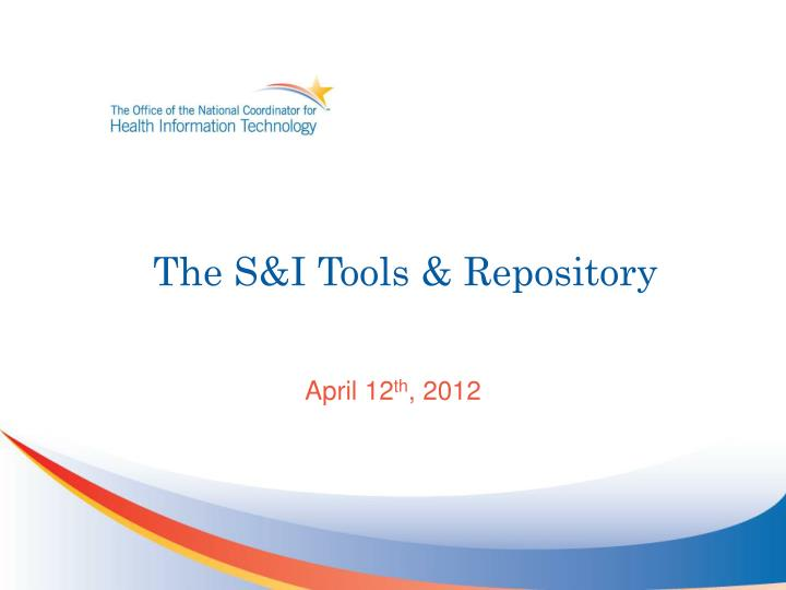 the s i tools repository n.