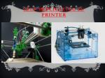 self replicating 3d printer
