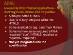 aria accessible rich internet applications defining roles states and properties