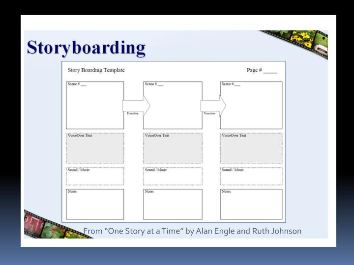 """From """"One Story at a Time"""" by Alan Engle and Ruth Johnson"""