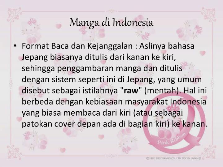 Manga di Indonesia