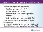 nnphi s coag and project opportunity