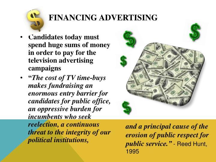 Financing Advertising