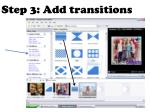 step 3 add transitions