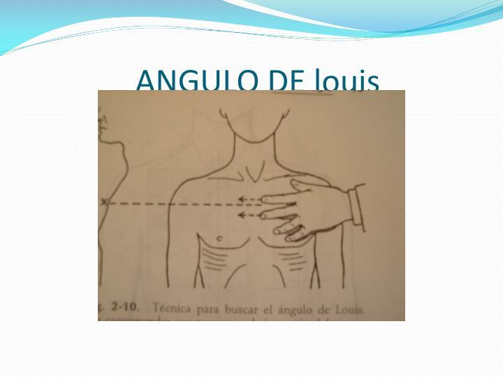ANGULO DE
