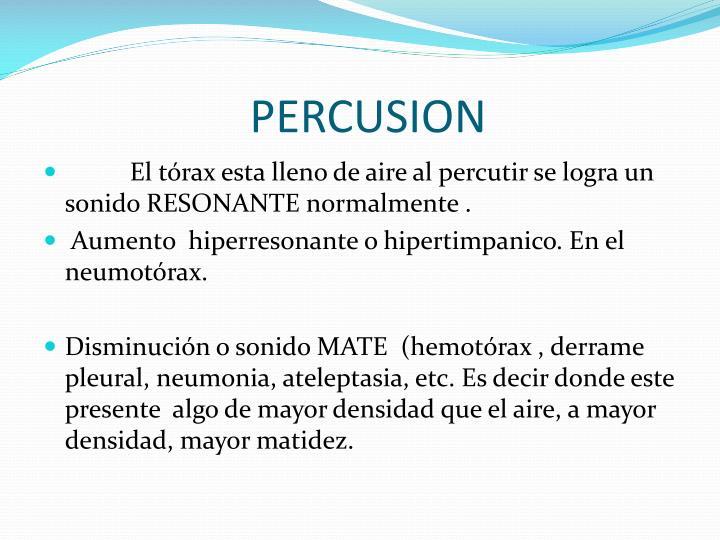 PERCUSION