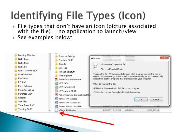 Identifying File