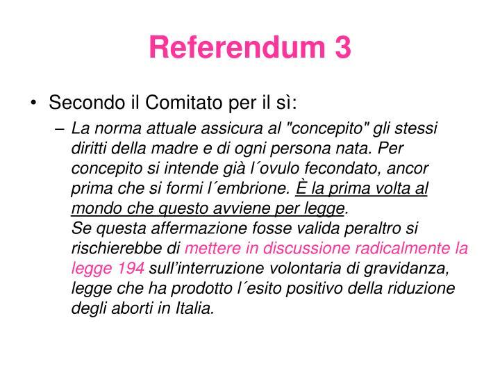 Referendum 3