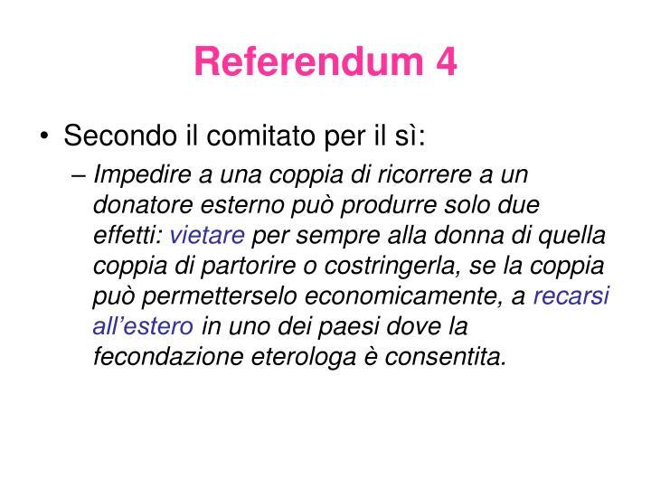 Referendum 4