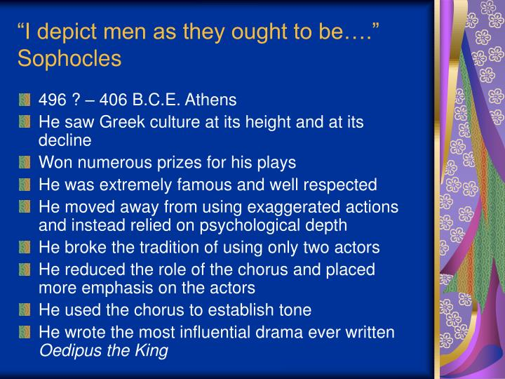 """""""I depict men as they ought to be…."""""""