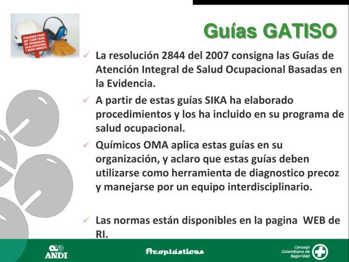 Guías GATISO