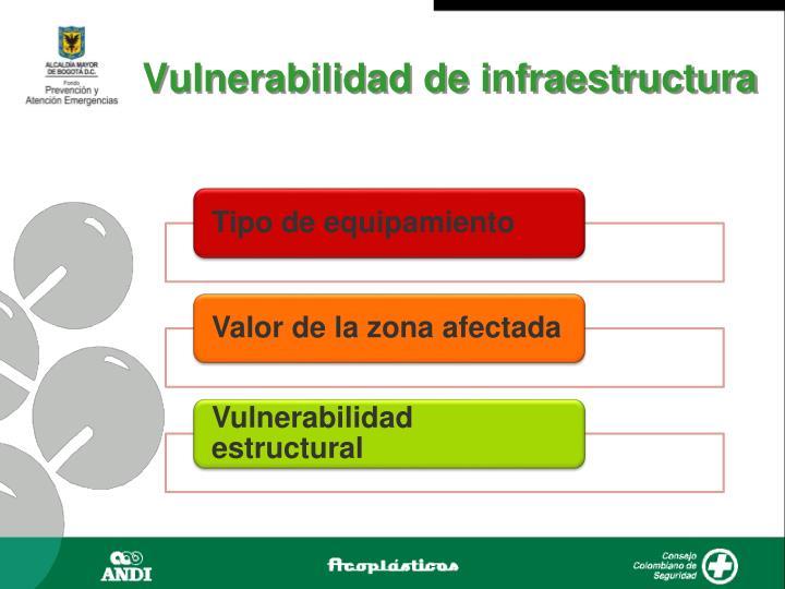 Vulnerabilidad de infraestructura