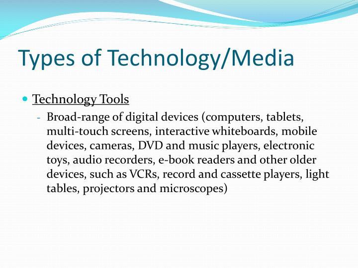 Types of technology media