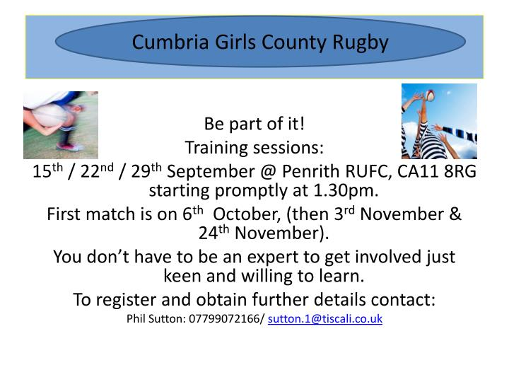 girls county rugby union