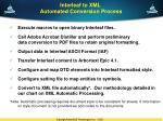 interleaf to xml automated conversion process