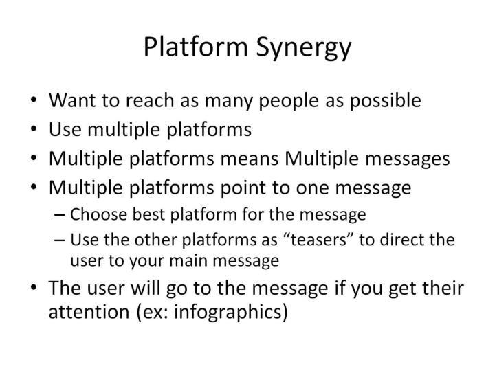 Platform Synergy