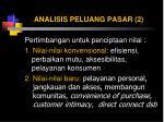 analisis peluang pasar 2
