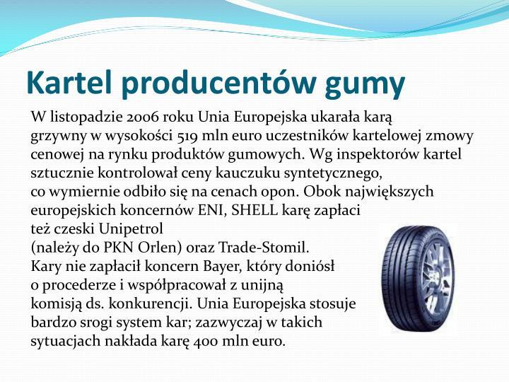 Kartel producentów gumy