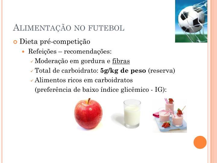 Alimentação no futebol