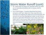 storm water runoff cont2