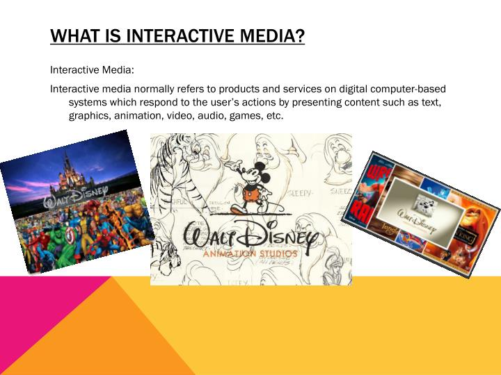 What is Interactive Media?