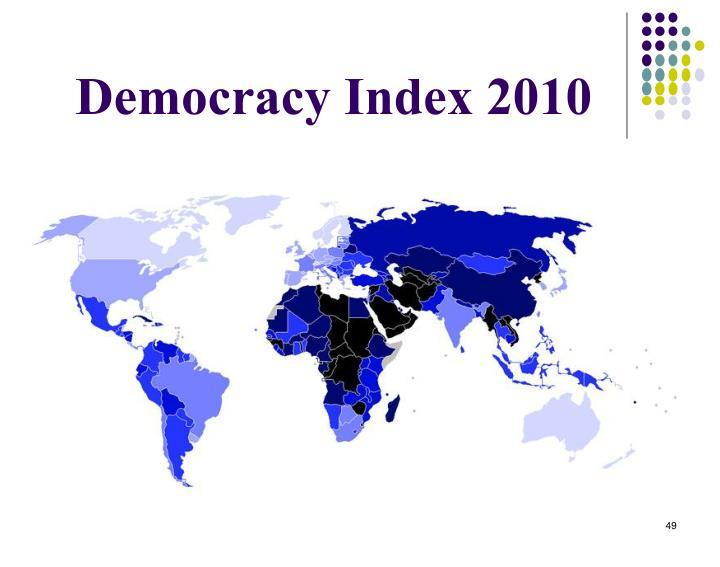 Democracy Index 2010