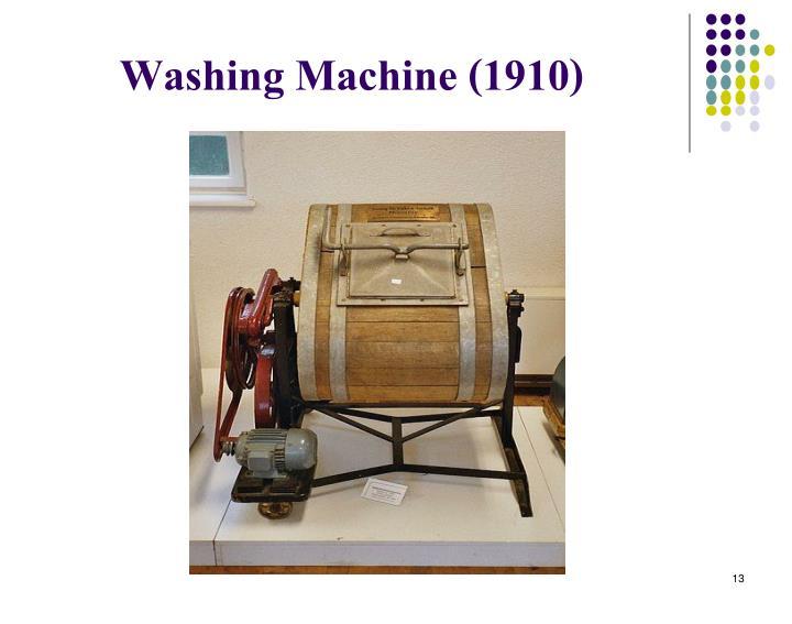 Washing Machine (1910)
