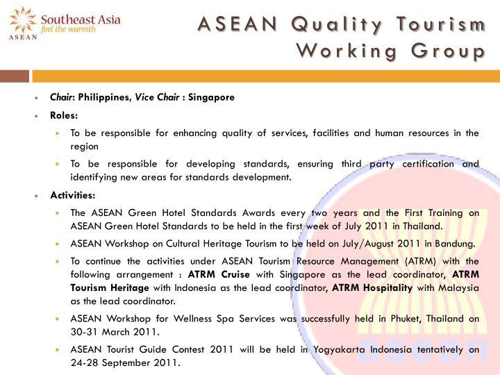 ASEAN Quality Tourism