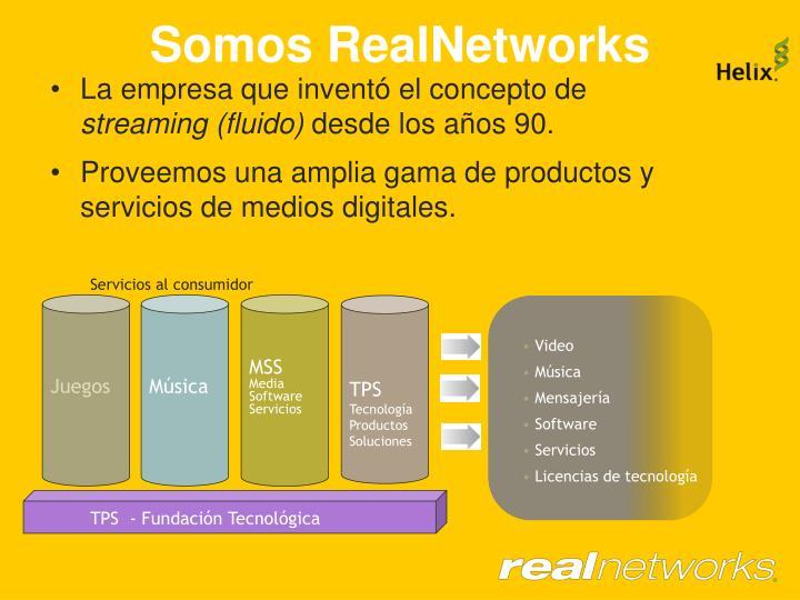 Somos RealNetworks