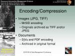 encoding compression